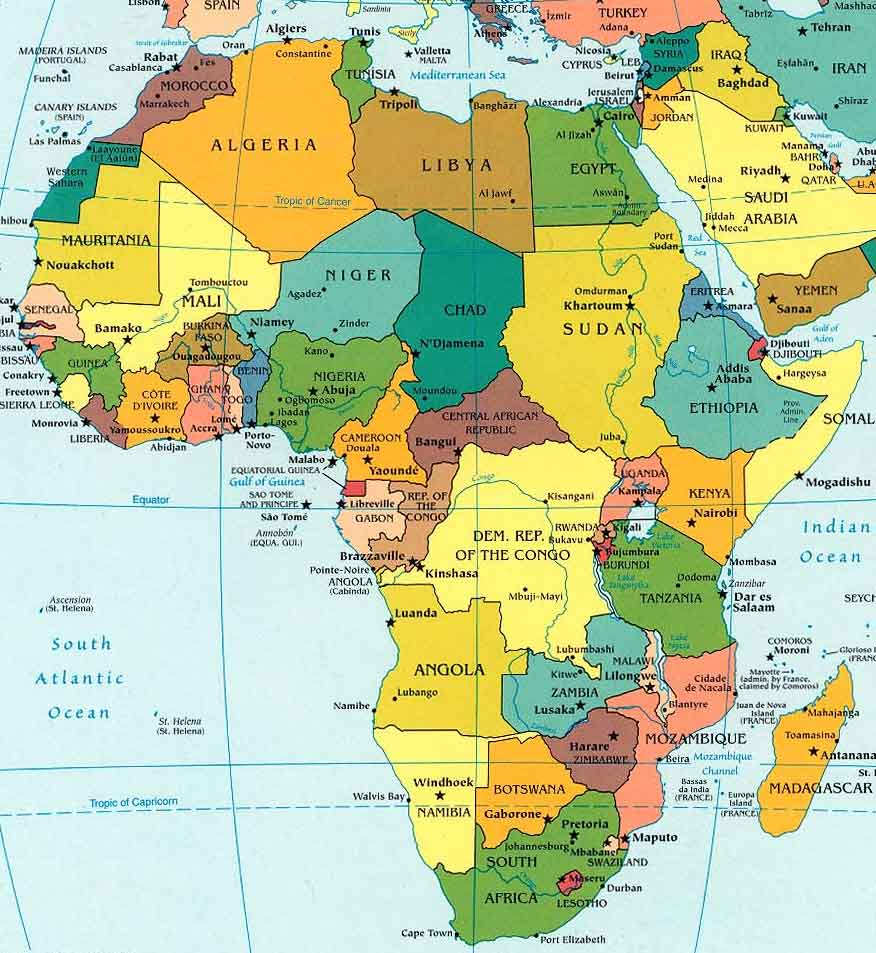 how to solve africa& 39