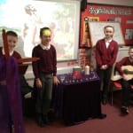 Year 6 present their reflections on The Miracle of Jesus Healing the Deaf Mute, to their class