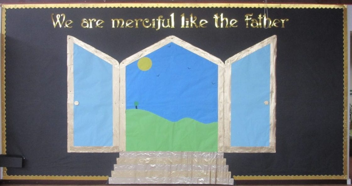 Our Mercy door will be the focus for our reflections during the Year of Mercy.