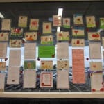 Year 6's work on display at Sainsbury's